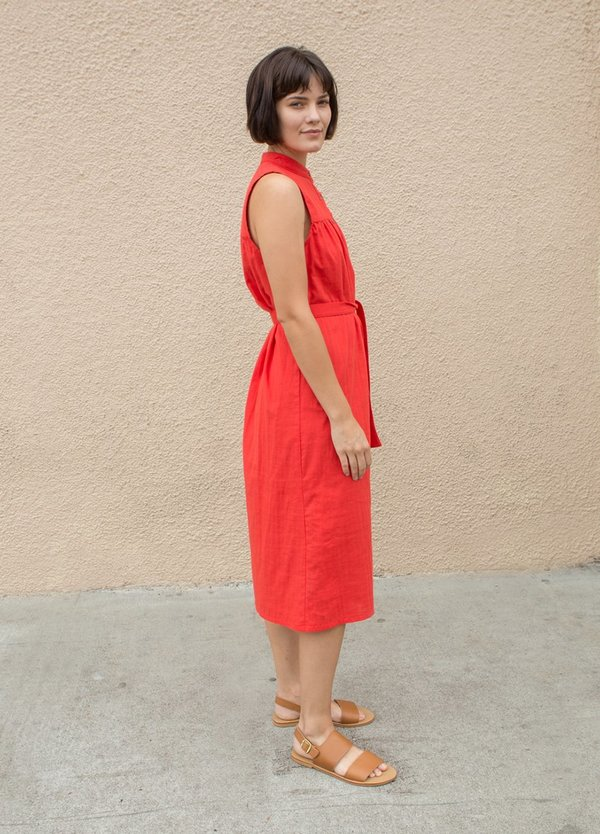 Loup Carolyn Dress - red