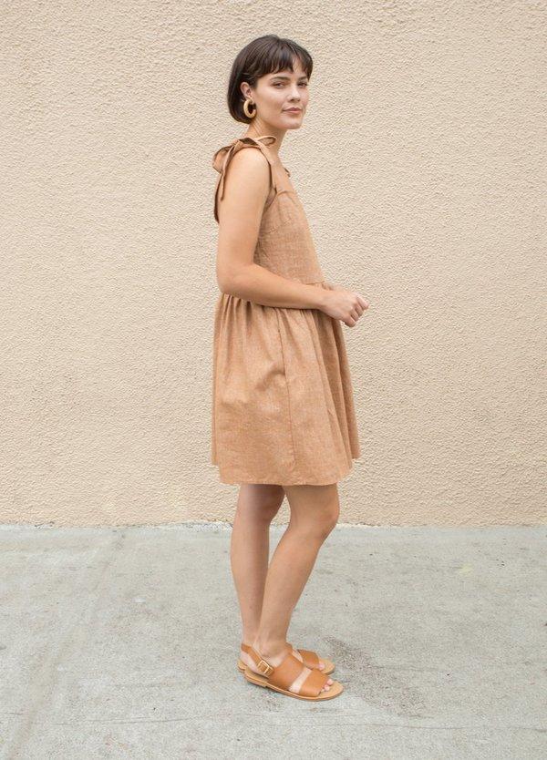Lykke Wullf Sorrel Dress - Pecan Linen