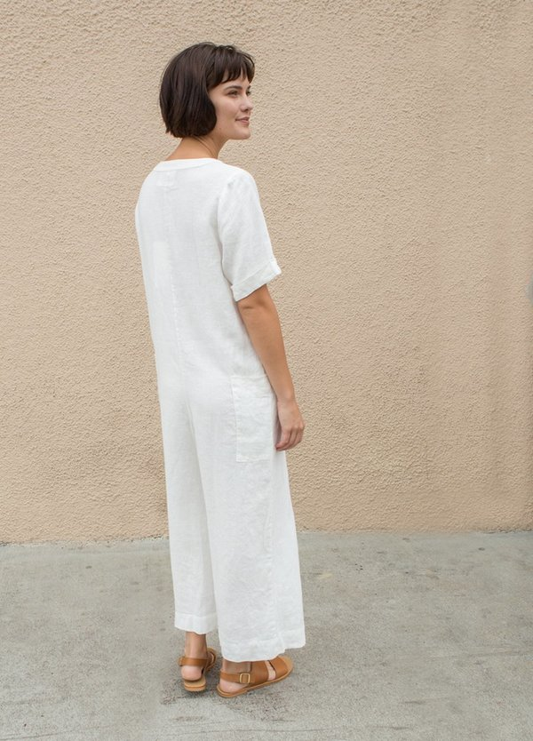 Sugar Candy Mountain Sunflower Jumpsuit - IVORY