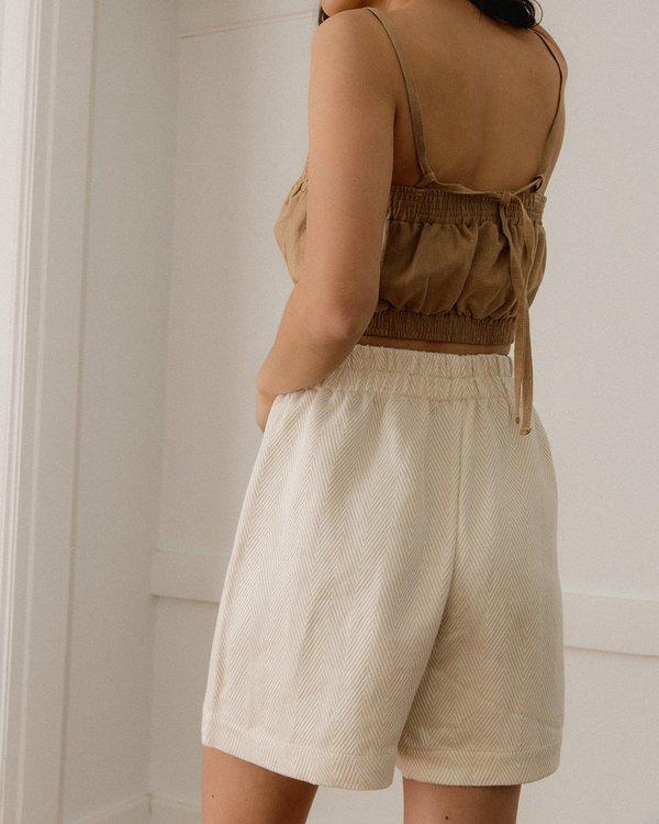 Harly Jae Aura Shorts - Chevron Pattern