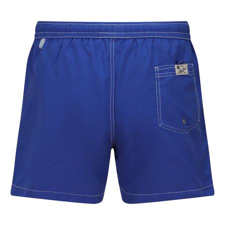 Hartford Boxer Swim Short - Worker Blue