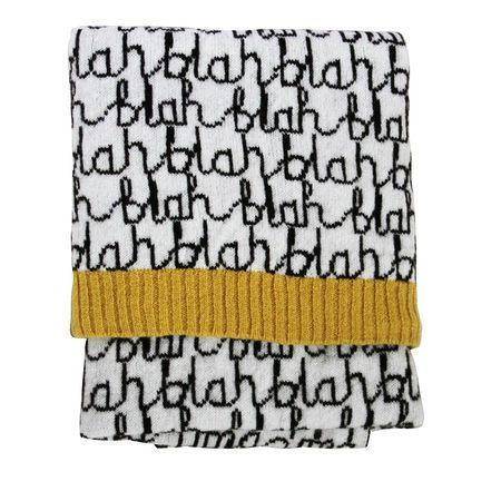 Donna Wilson Blah Blah Mini Blanket