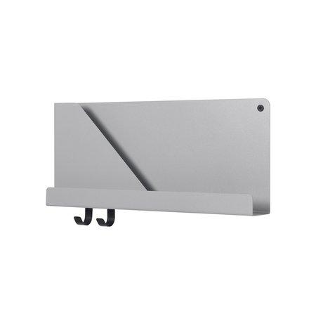 Muuto Small Folded Shelf - Grey