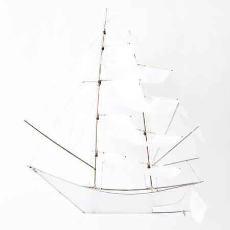 Haptic Lab Large Sailing Ship Kite - Ghost Ship
