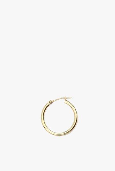 GJenmi NY Large Hoop Earring S - 14K Gold