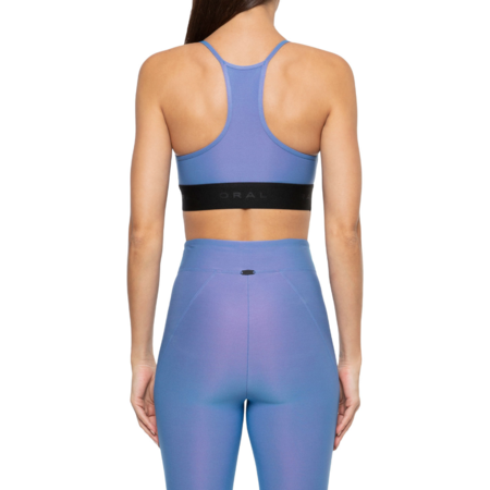 koral Sweeper Iridescente Sports Bra - Auralite