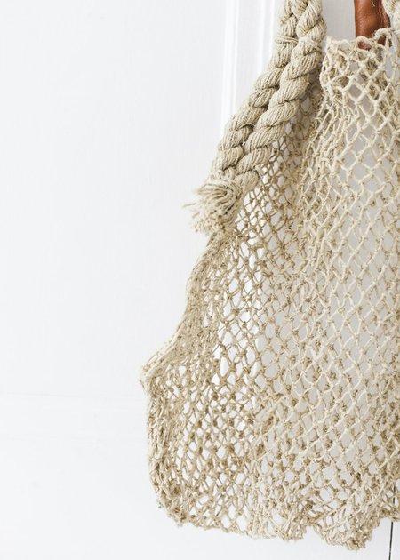 C+L Finds Hemp String Bags - Natural