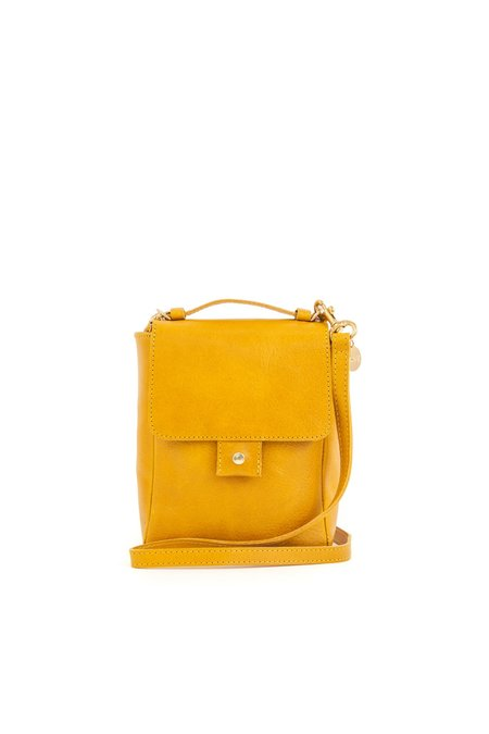 Clare V. Pocket Bag - Rustic Yellow