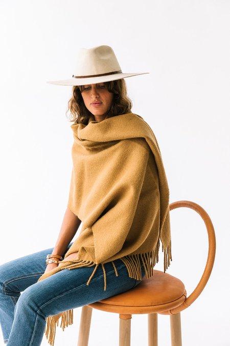 Pampa Puna OversizedScarf  - Turmeric