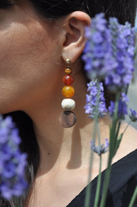 Rou Spiral Earrings