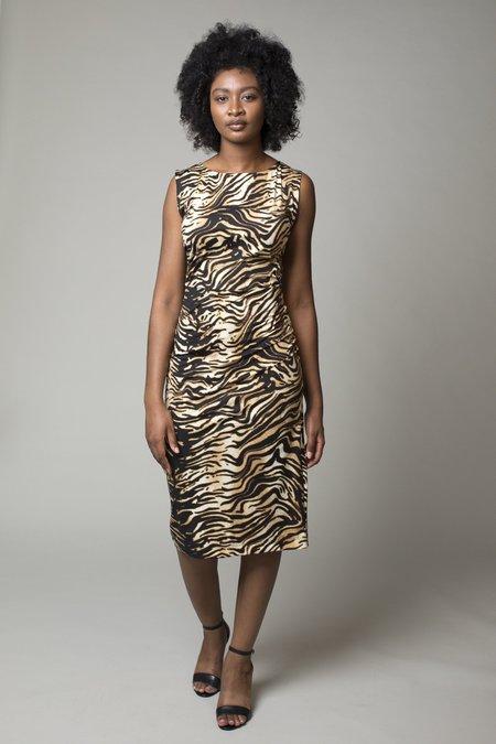 Rachel Comey Medina Dress - Brown Bengal Swim