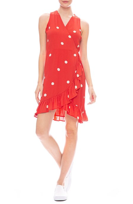 Rails Madison  Dress - Scarlet Dots