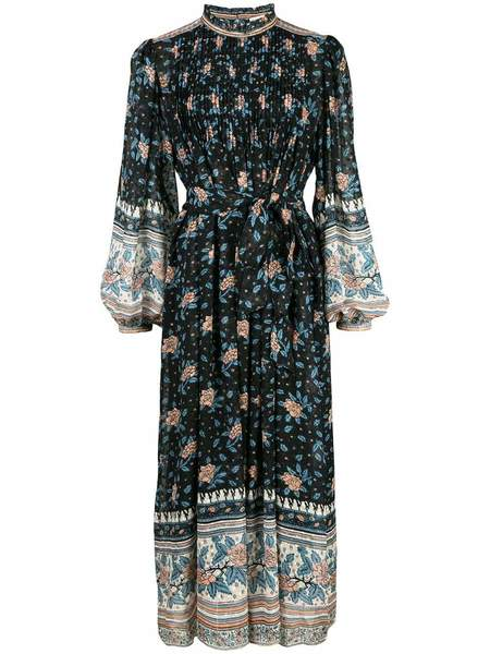 ULLA JOHNSON Prisma dress - Noir