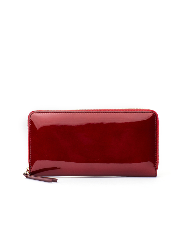 51959da58 Maison Margiela Patent Leather Wallet - Burgundy | Garmentory