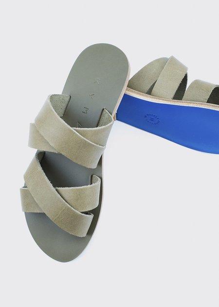 Kyma Kalamos Sandals - Army Green