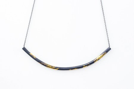 Andrea Shelley Apogee Necklace - Silver/Gold