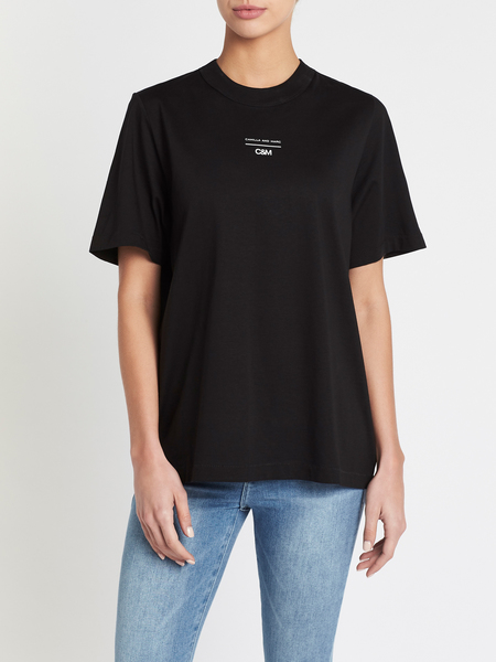 C & M Camilla And Marc George Tee - Black