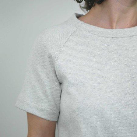 Atelier b. Straight Cut Dress w/Sleeve - Sea Salt