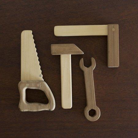 KIDS Fanny & Alexander Wooden Toy Tool Set