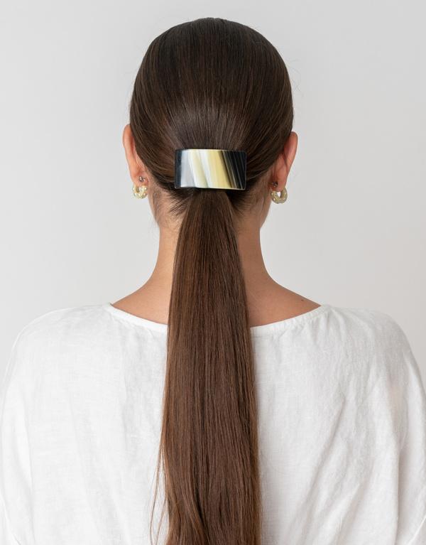 Rachel Comey Rosellini Barrette - Striped Shell