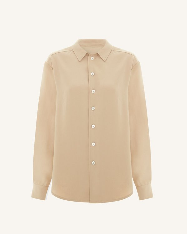 The Acey Everyday Shirt - Sand