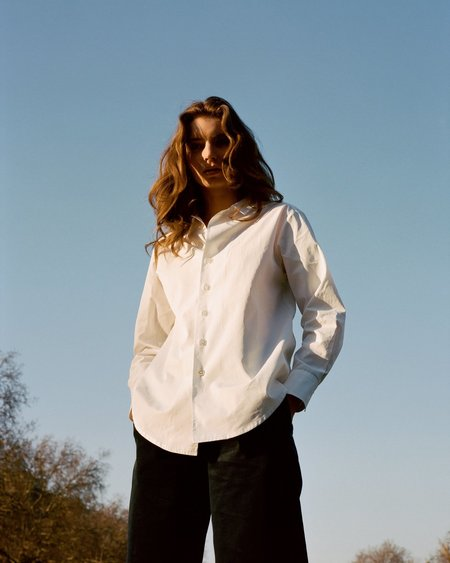The Acey Everyday Shirt - White