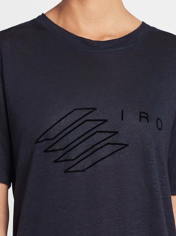 IRO Lucie T-shirt - Navy