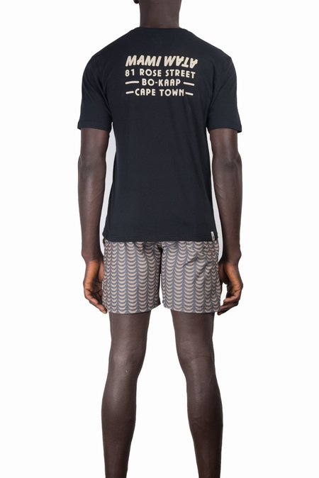 Mami Wata Rose T-shirt - Black