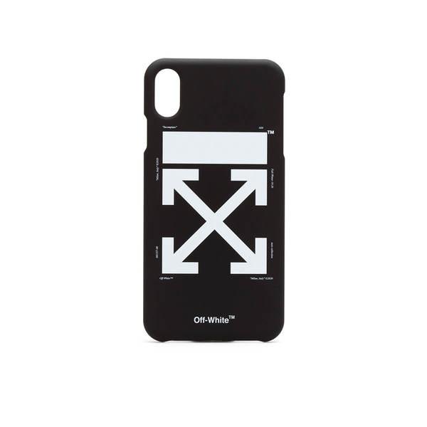 OFF-WHITE iPhone XS MAX Arrow case - Black