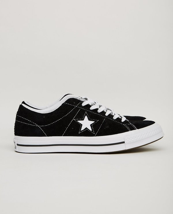 Converse ONE STAR LOW BLACK on Garmentory