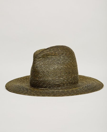 Esenshel YOKO TALL CLASSIC BRIM HAT - GREEN