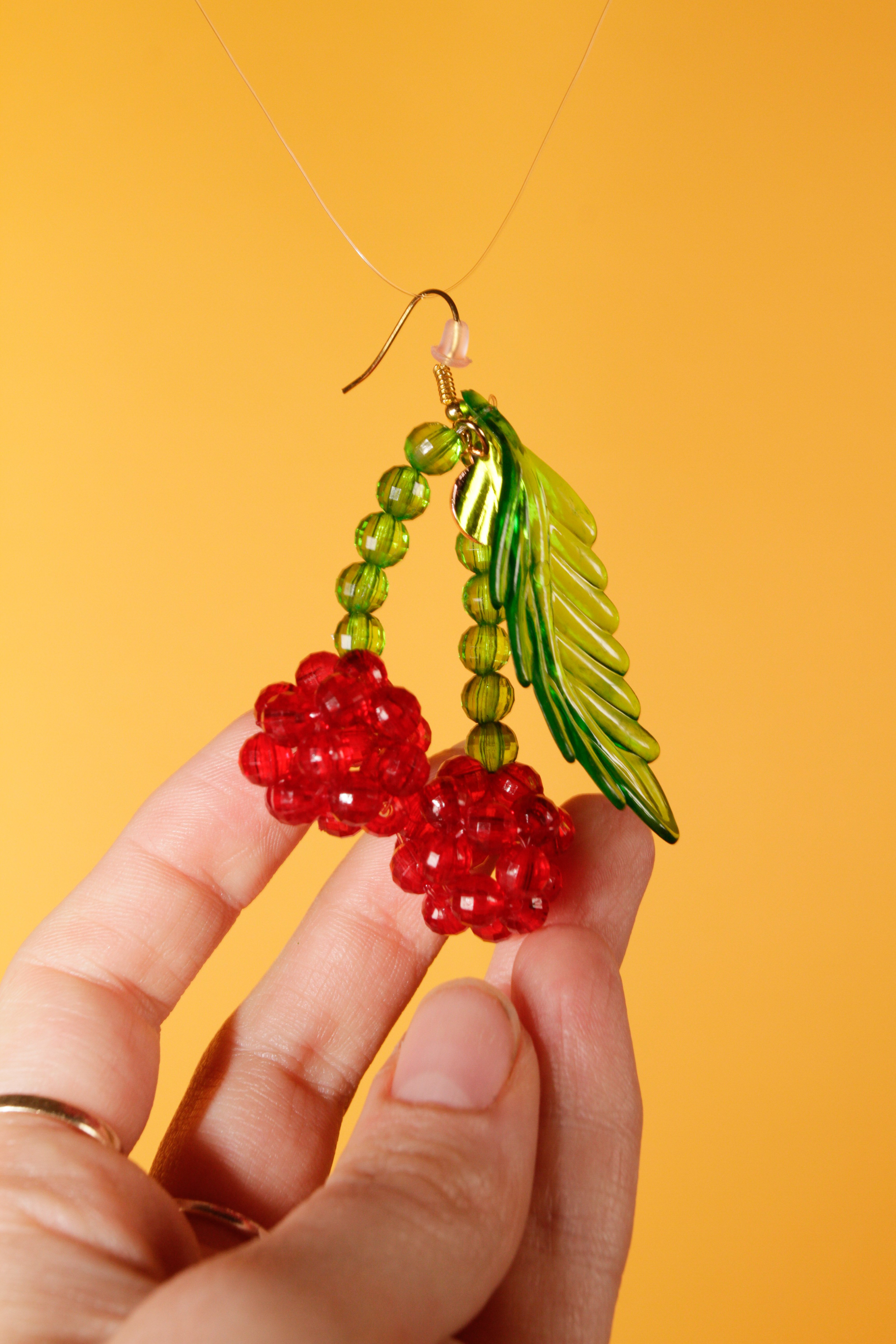 333fa12d462f0 Susan Alexandra Lolita Beaded Earrings - Cherry