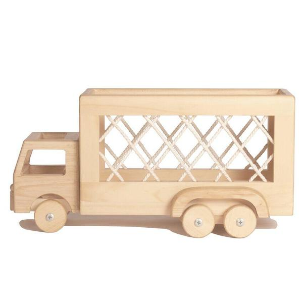 Kids Shop Merci Milo The George Wooden Rope Truck