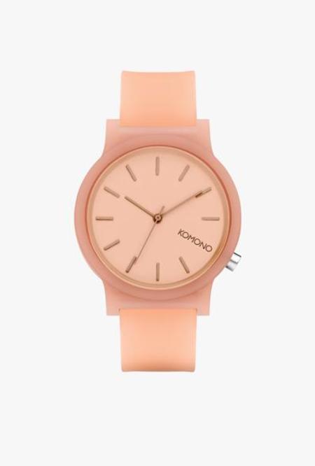 KOMONO Mono Blush Glow Watch - Blush Glow