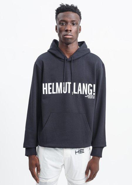 Helmut Lang Exclamation Hoodie - Black