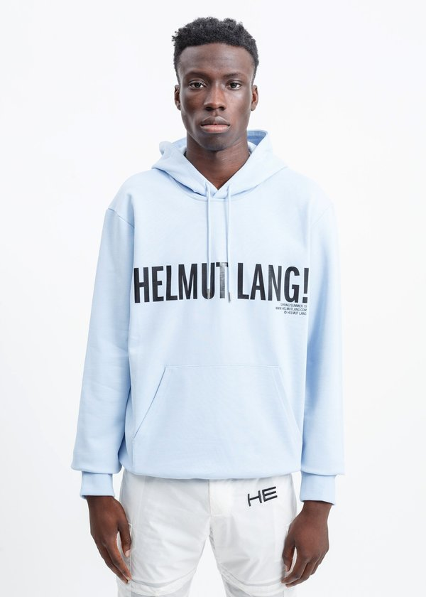 Helmut Lang Exclamation Hoodie - Flag