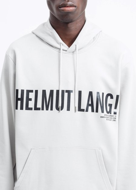 Helmut Lang Exclamation Hoodie - Pumice