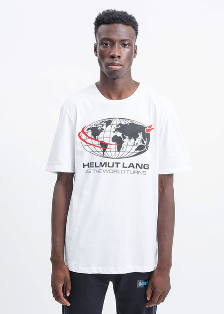 Helmut Lang Worlds Turn T-Shirt - White