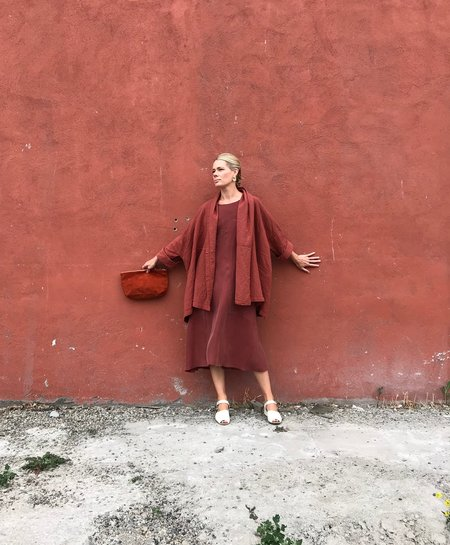 Allison Wonderland Maldives Dress - Copper