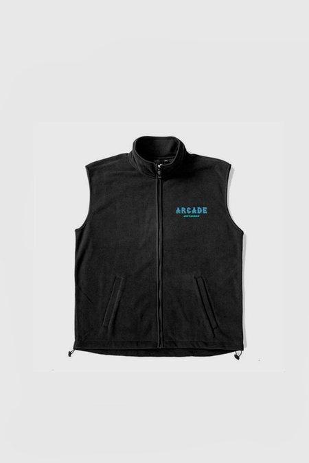 ARCADE Padaloma Outdoor Fleece Vest - Black