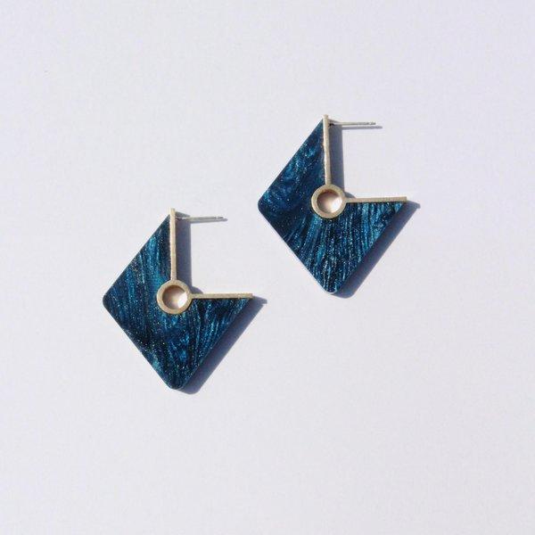 Metalepsis Projects Rhombi Earrings