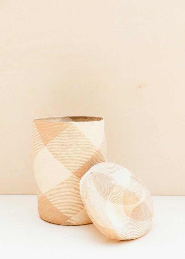Territory Japa Basket Tall - Natural