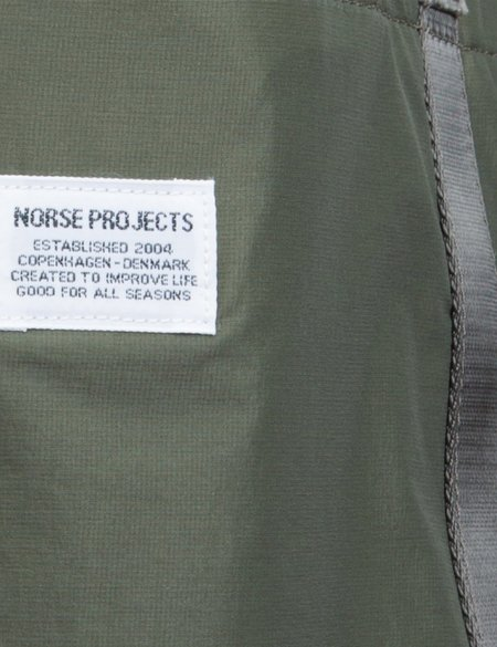 Norse Projects Ripstop Tote Bag - Dried Olive