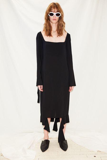 Jovana Markovic Disrupted Dress - Black