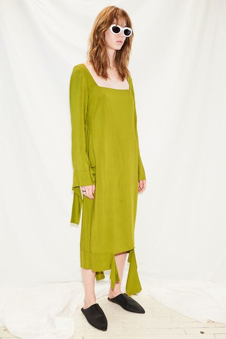 Jovana Markovic Disrupted Dress - Green