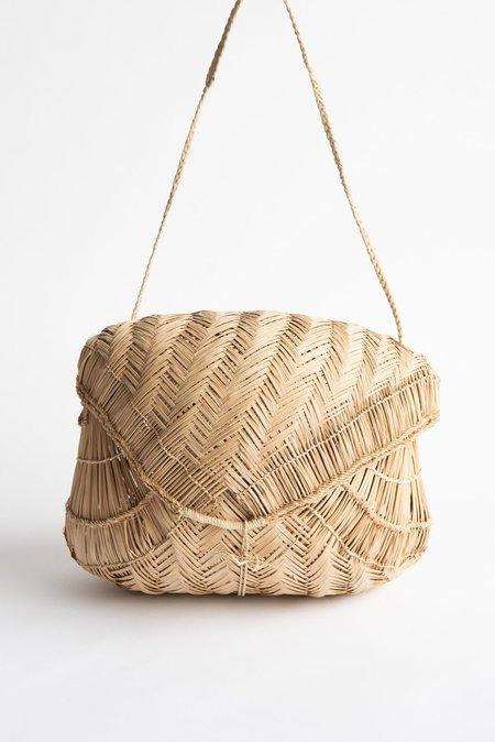 Incausa Carrying Basket by Xavante People - Natural