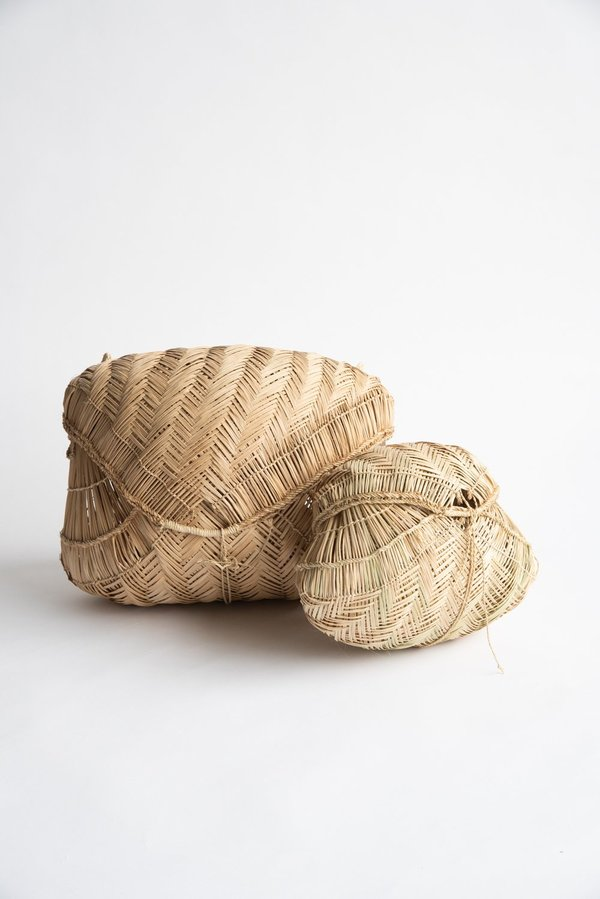 Incausa Carrying Baskets by Xavante People - Natural