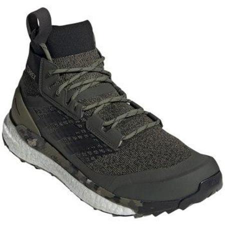 Adidas Outdoor Terrex Free Hiker Shoes - Raw Khaki/Desert Sand
