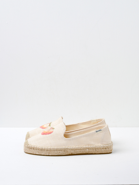 Soludos PEACH BUM SMOKING SLIPPER - BLUSH
