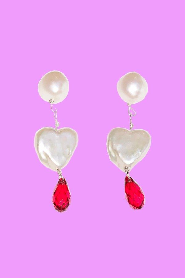 Tuza Mini Pearl Drop Earrings
